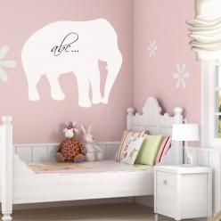 Stickers velleda éléphant