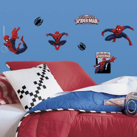22 Stickers Spiderman Marvel