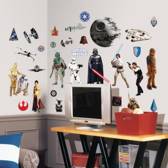 31 Stickers Star Wars Trilogie