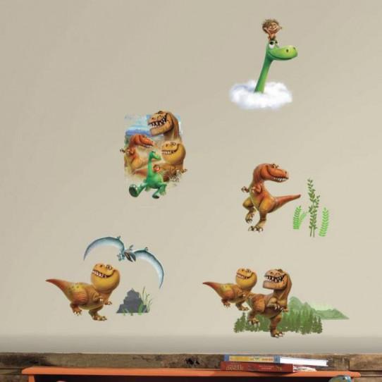 32 Stickers personnages Le Voyage d'Arlo Disney