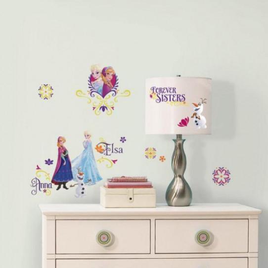 36 Stickers La Reine Des Neiges Spring Brillant