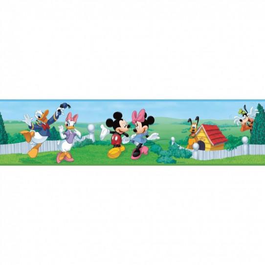 Frise Adhésive Disney Mickey Mousse  4,5 mètres