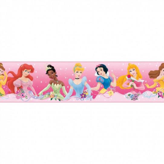 Frise Adhésive Disney Princesses 4,5 mètres