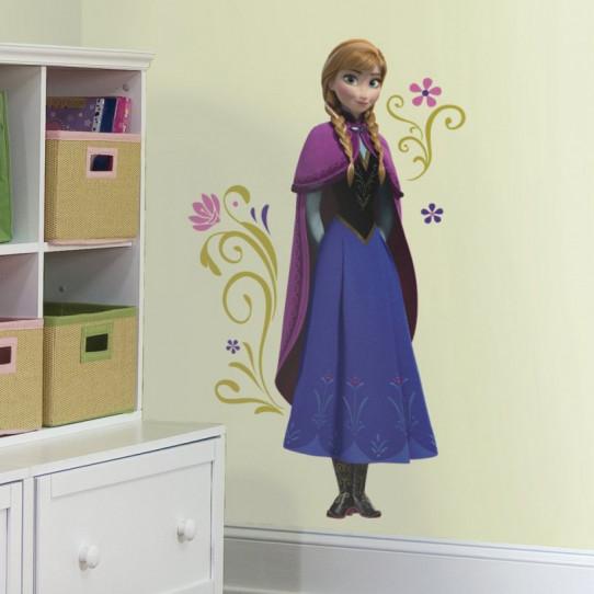 Sticker géant Anna La Reine des Neiges Disney Frozen