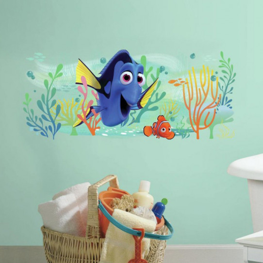 Stickers géant Dory et Nemo Disney