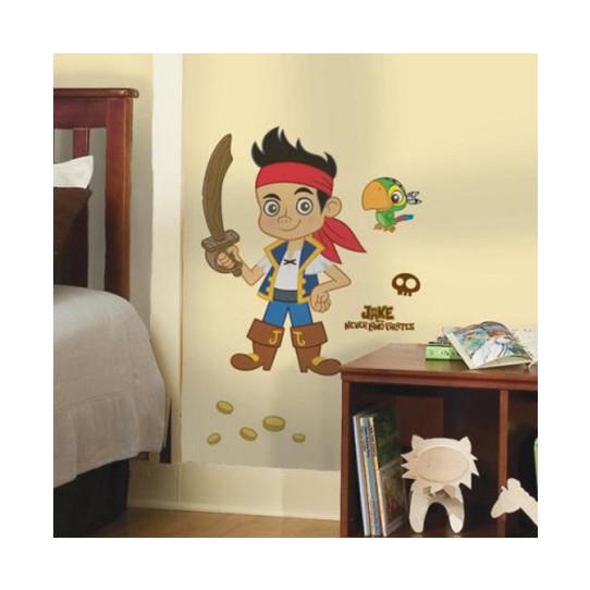 Stickers Géant Jake et les Pirates du pays imaginaire Disney