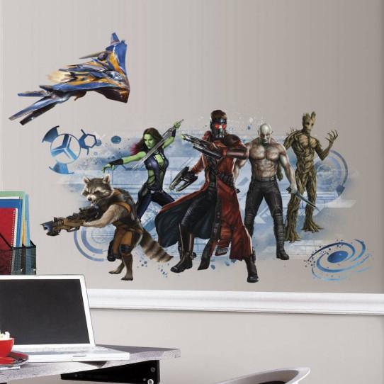 Stickers Graphic Les Gardiens de la Galaxie Marvel
