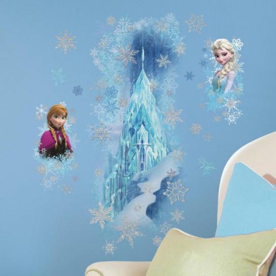 Stickers Scintillants Le Palais de Glace La Reine des Neiges Disney