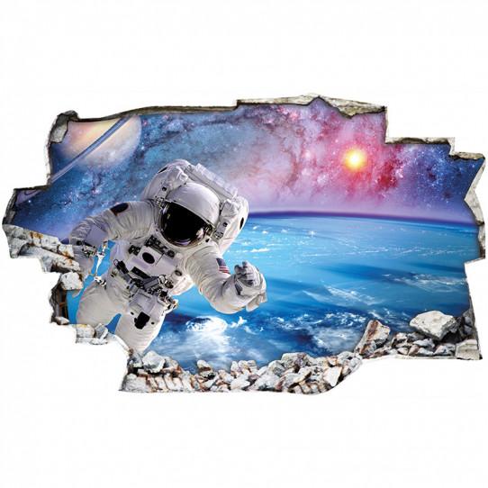Stickers Trompe l'oeil 3D - Espace 7