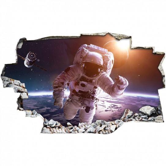 Stickers Trompe l'oeil 3D - ESpace 9
