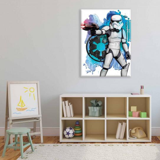 Tableau 100x75 cm Stars Wars