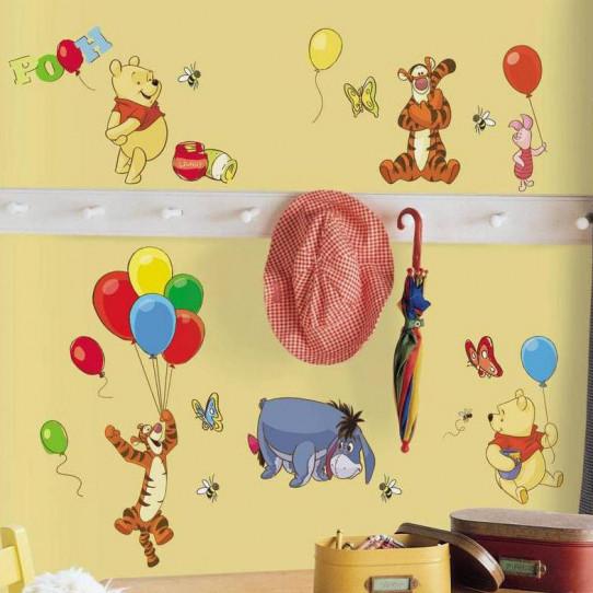 Stickers Winnie l'ourson Disney