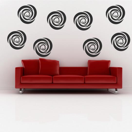 Kit 6 stickers hypnose