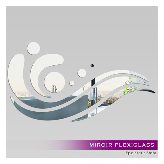 Miroir Acrylique Plexiglass Design 3
