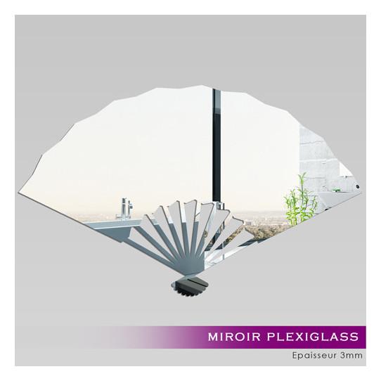 Miroir plexiglass acrylique evantail des prix 50 for Miroir 50x80