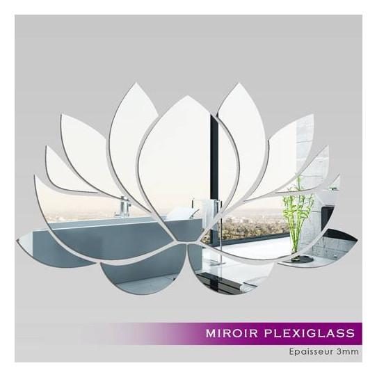 Miroir Acrylique Plexiglass  Nénuphar