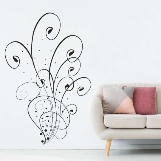 Stickers adhésif autocollant muraux mural art