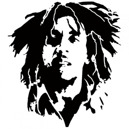 Stickers Bob Marley - Des prix 50% moins cher qu\'en magasin
