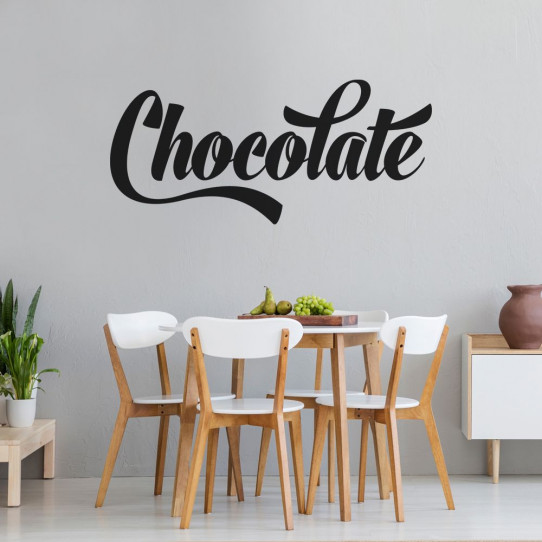 Stickers chocolate