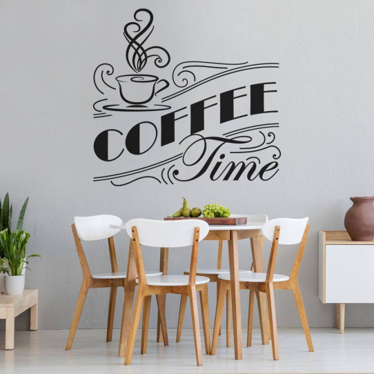 Stickers coffee time