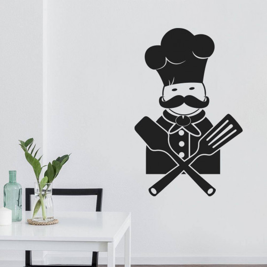 Stickers cuisine chef