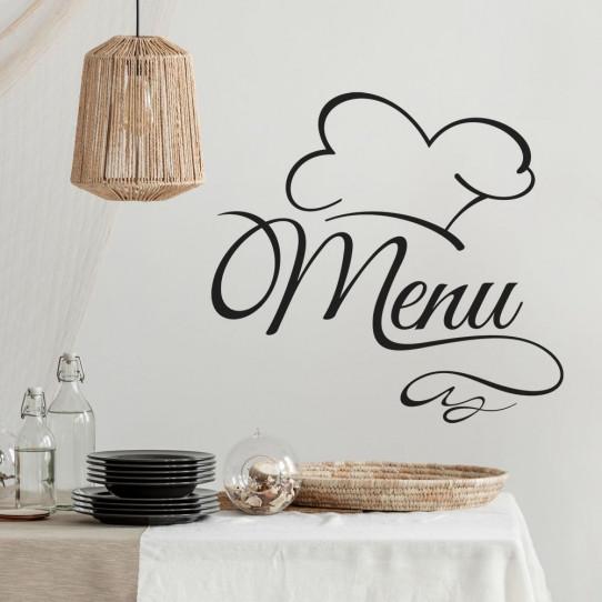 Stickers cuisine menu