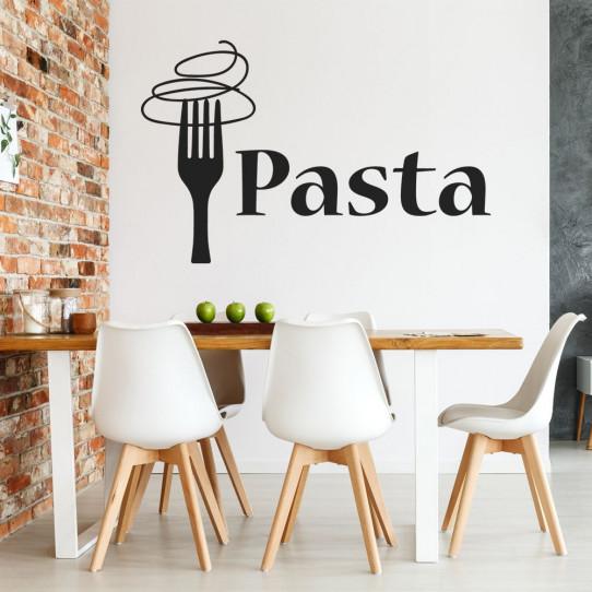 Stickers cuisine pasta