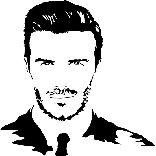 Stickers david beckham