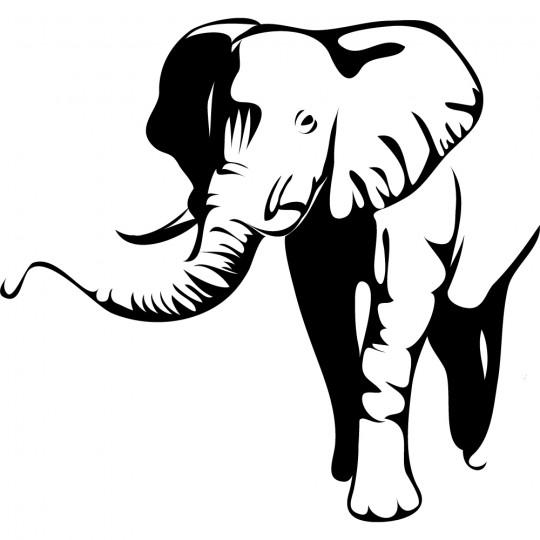 Stickers Eléphant