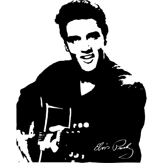 Stickers elvis presley