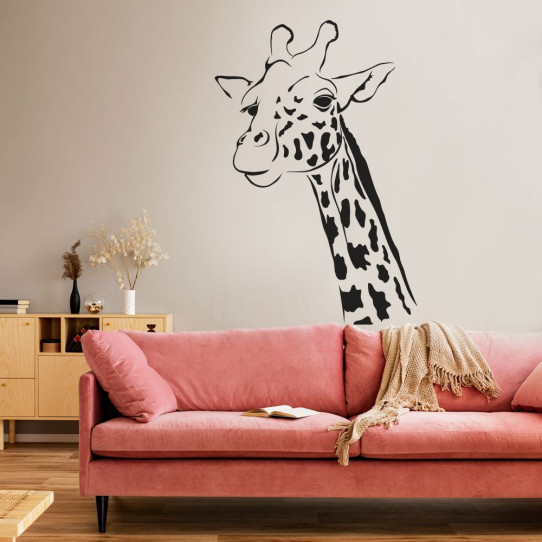 Stickers girafe