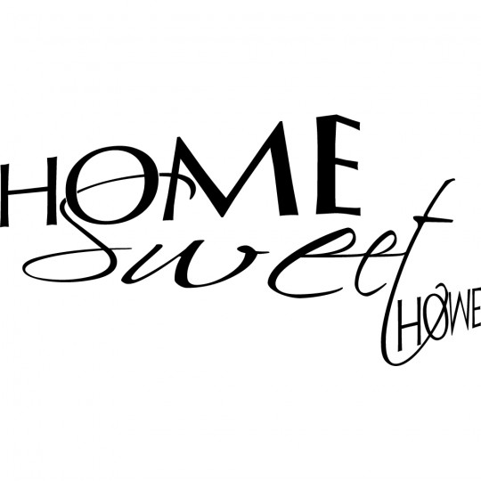 Stickers home sweet home
