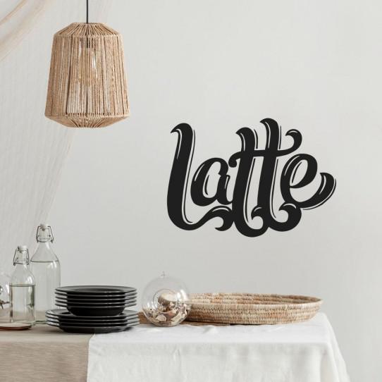 Stickers latte