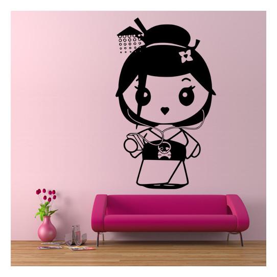 Stickers Mini Geisha