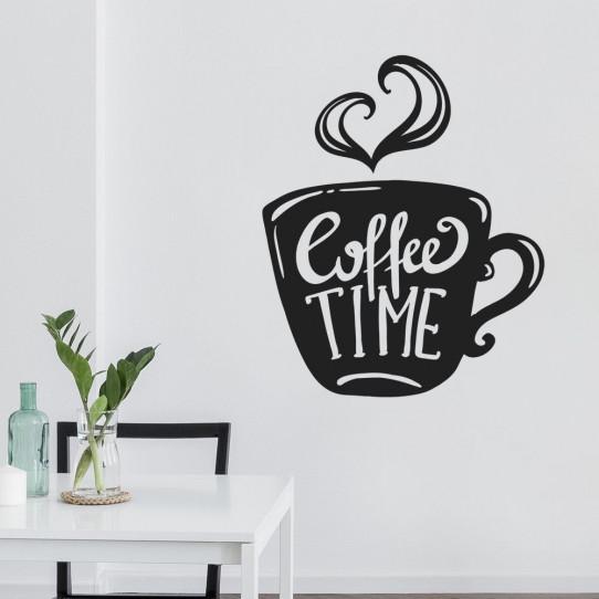 Stickers tasse coffee time