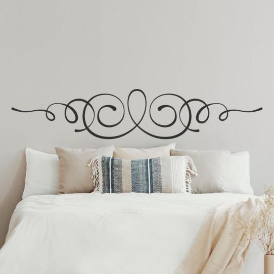 Stickers tête de lit