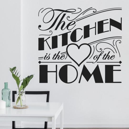 Stickers the kitchen