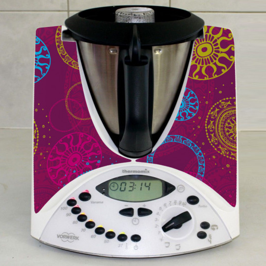 Stickers Thermomix TM31 Abstrait 6