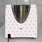 Stickers Thermomix TM 31 Coeur rose