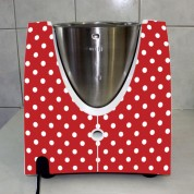 Stickers Thermomix TM 31 Rouge à pois