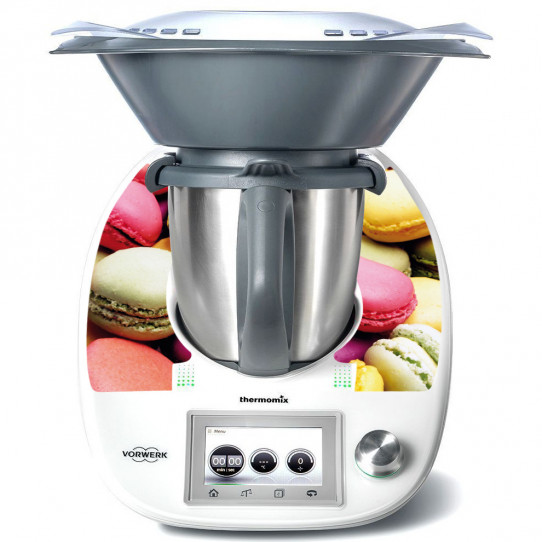 Stickers Thermomix TM5 Macarons