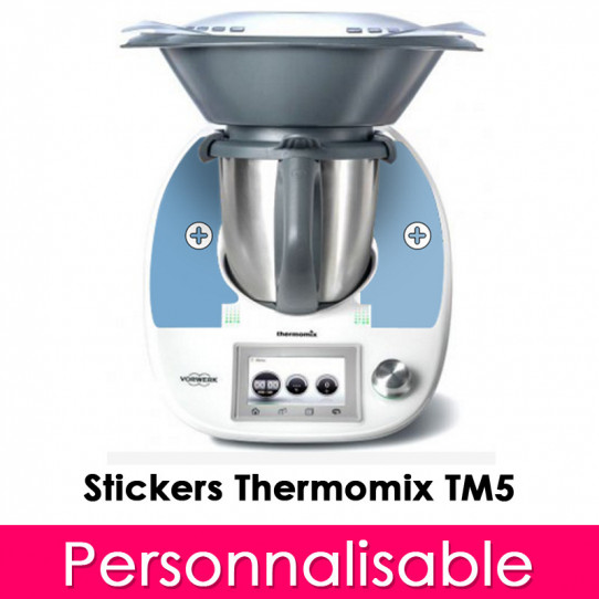 Stickers Thermomix TM 5 personnalisé