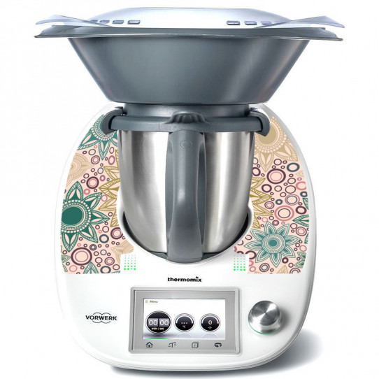Stickers Thermomix TM5 Rond design