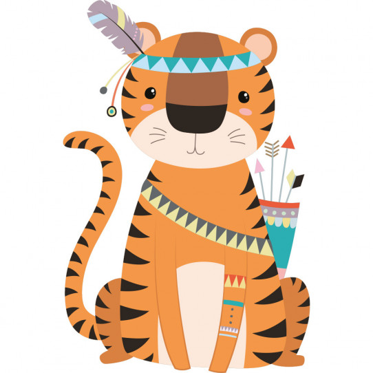 Stickers tigre indien