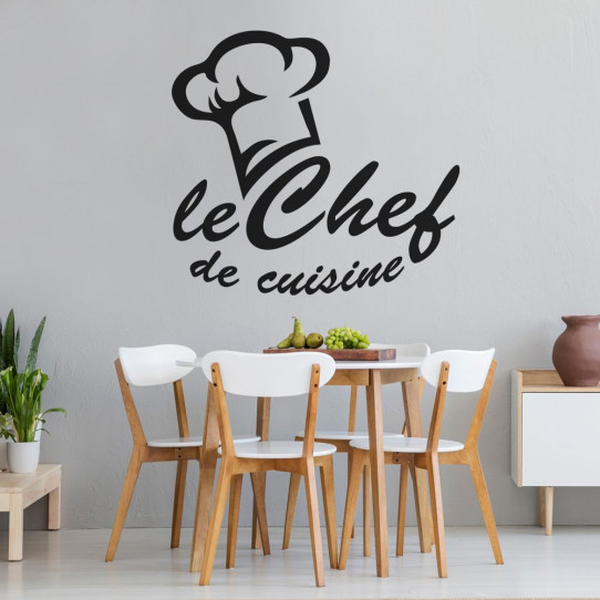 Stickers toque le chef de cuisine