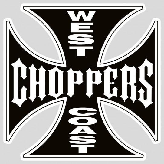 Stickers west coast choppers