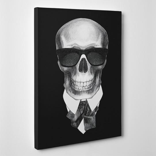 Tableau toile - Skull Boss
