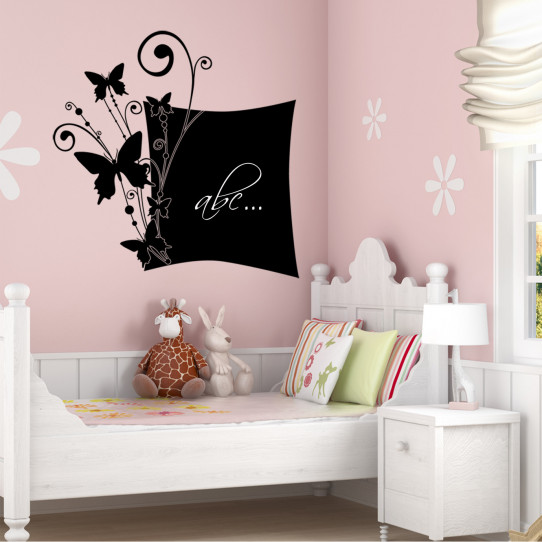 Stickers ardoise papillons