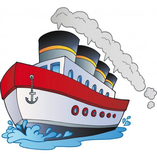 Stickers bateau