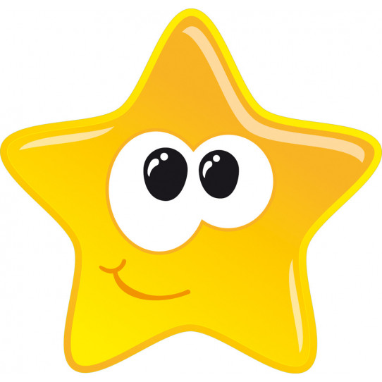 Stickers grande étoile